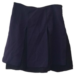 The Limited Skirt Navy and black