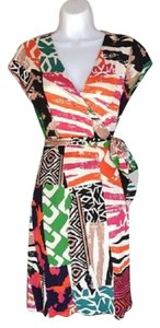 Diane von Furstenberg short dress multi Wrap Vintage Wrap Dvf Jenny Wrap on Tradesy