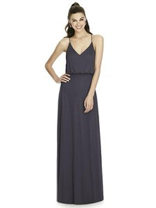 Alfred Sung Onyx Chiffon Knit D739 Bridesmaid/Mob Dress Size 12 (L)
