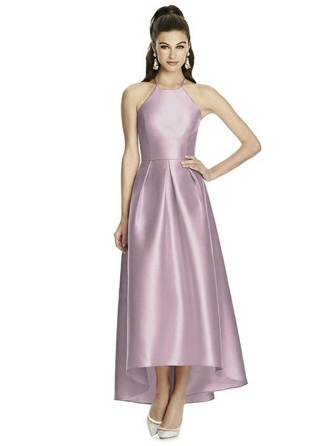 Item - Suede Rose Sateen Twill D741 Bridesmaid/Mob Dress Size 16 (XL, Plus 0x)