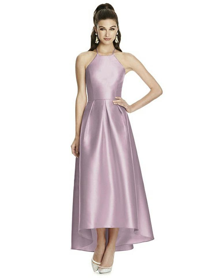 8121a554da Alfred Sung Suede Rose Sateen Twill D741 Bridesmaid Mob Dress Size ...