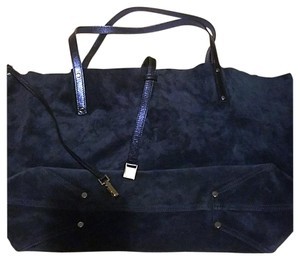 Tiffany & Co. Tote in METALLIC BLUE/ COBALT BLUE