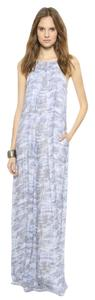 Light Blue Maxi Dress by 10 Crosby Derek Lam Maxi Designer Vacation