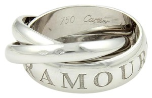 Cartier Cartier Amour Et Trinity Rolling Bands Rings Size 48-US 4.5 Box & Cert