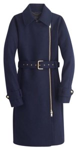 J.Crew Wool Belted Trench Coat