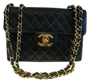 Chanel Lambskin Maxi Flap Vintage Shoulder Bag