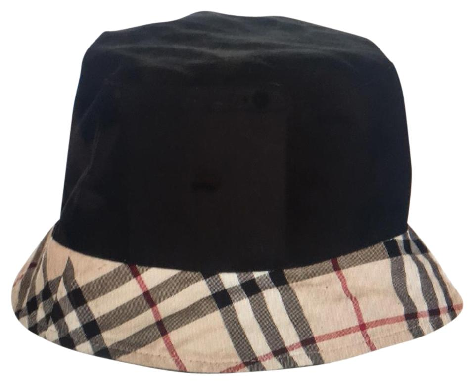 Burberry Black and Tan House Reversible Bucket Hat - Tradesy 90f2bbd8213