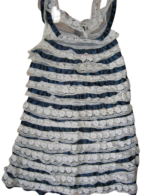 Preload https://img-static.tradesy.com/item/20951554/marc-by-marc-jacobs-blue-white-spring-summer-short-cocktail-dress-size-0-xs-0-1-650-650.jpg