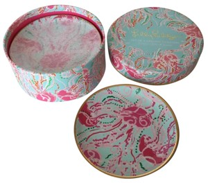 Lilly Pulitzer Lilly Pulitzer Ceramic Coasters, Plates in Jellies Be Jammin'