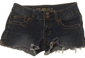 Rue 21 Cut Off Shorts Dark Denim