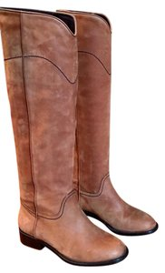 Chanel brown Boots