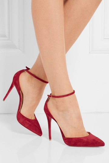 Christian Louboutin Ankle Strap Uptown Uptown 100mm Red Pumps