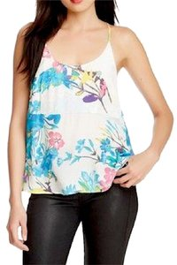 Yumi Kim Botanical Eden Floral Classic Swingy Classic Chic Top White