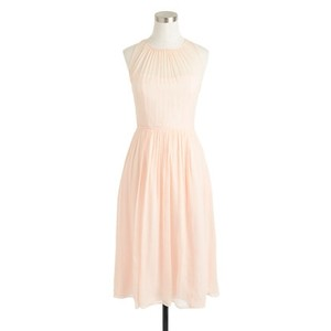 J.Crew Soft Peach Megan Dress