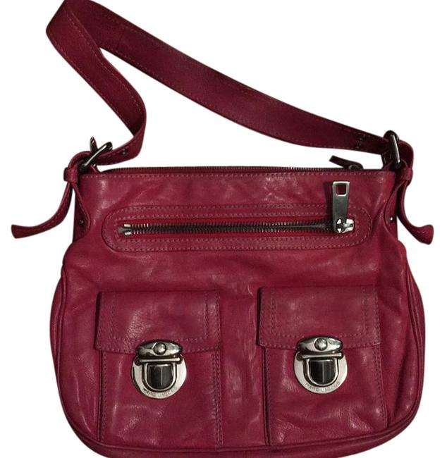 Marc Jacobs Stella Pink Leather Hobo Bag Marc Jacobs Stella Pink Leather Hobo Bag Image 1