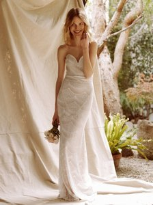 Stone Cold Fox Market Gown (free People Style: 36447324) Wedding Dress