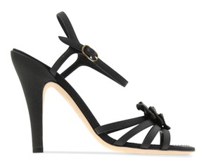 Chanel Navy Bow blue Sandals