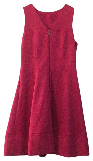 Item - Hot Pink Mid-length Work/Office Dress Size 8 (M)