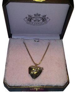 Juicy Couture New Vintage Juicy Couture 'Juicy Icons' Buckle Heart Locket