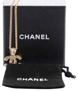 Chanel gold Chanel necklace
