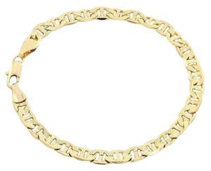 Other ** NWT ** GUCCI 14K GOLD MATTE FINISH ( 6MM / 7.5 INCH ) BRACELET