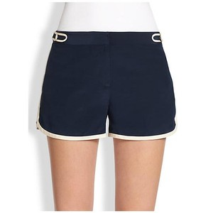 Diane von Furstenberg Dvf Silk Silk Tiffany Dress Shorts navy