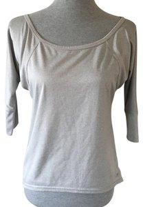 Champion Grey Athletic Back Cut Out Top