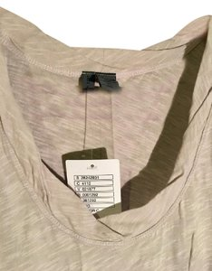 Anthropologie Left Of Center Super Soft Layering Top Sand