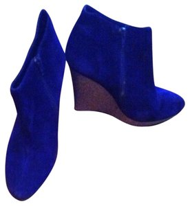 Dolce Vita Royal Blue Suede Boots