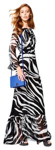 Diane von Furstenberg Silk Maxi Long Gucci Dress