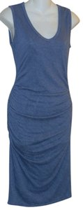 Velvet by Graham & Spencer short dress Blue on Tradesy