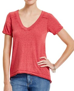 Free People T Shirt red bloom