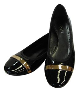 Vaneli Patent Good Trim Size 7.50 Narrow Very Good Condition Black, Flats