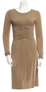 Burberry Rushed Bodice Dress