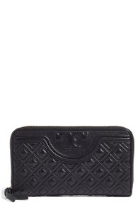 Tory Burch Tory Burch 'Fleming' Quilted Lambskin Leather Continental Wallet
