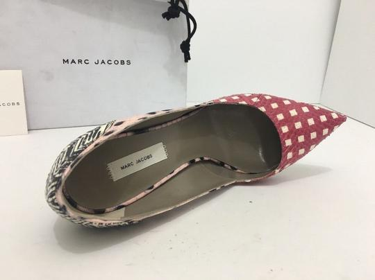 Marc Jacobs Pointed Toe High Mixed Media - Multi Color Pumps