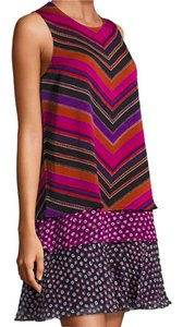 Diane von Furstenberg short dress Purple Dvf Large Cocktail Office on Tradesy