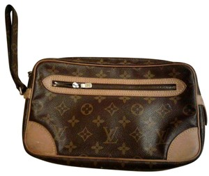 Louis Vuitton Briwn Clutch