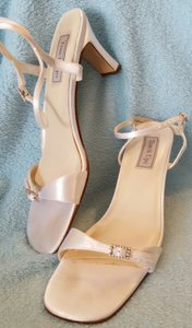Touch Ups White Satin Sandal Wedding Heels Wedding Shoes