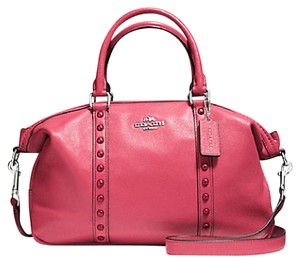 Coach Satchel in Strawberry