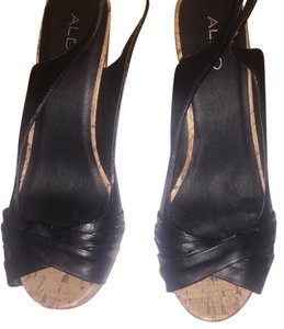 ALDO Black Wedges