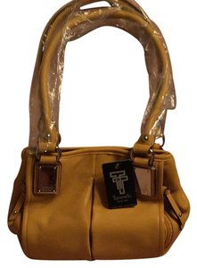 Tignanello Satchel in mustard yellow