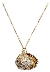 Ocean Fashion Pearl shell gold necklace