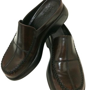 Dansko Professional Patchwork Dark Brown Mules