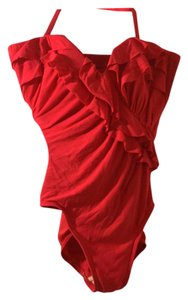 Miraclesuit Miracleswim red one piece