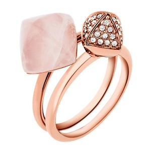 Michael Kors SIZE 8 NWT Blush Rush collection ring MKJ52557918