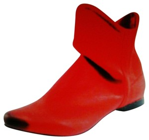 Matisse Slouchy All Leather Leather Red Boots