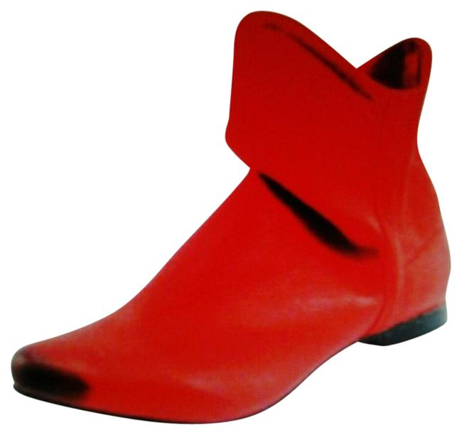 Item - Red Slouch Boots/Booties Size US 8 Regular (M, B)