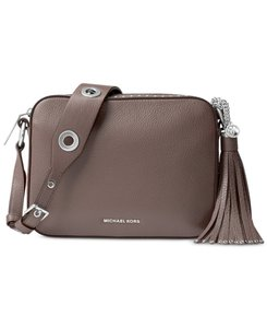 Michael Kors Brooklyn Camera Grommets Cross Body Bag