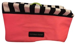 Victoria's Secret Pink, Black and White Travel Bag